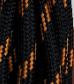 Siyah - Turuncu Desenli